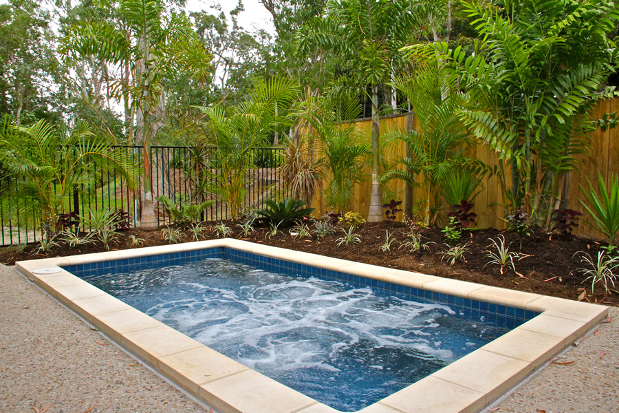 David McCoy display home pool